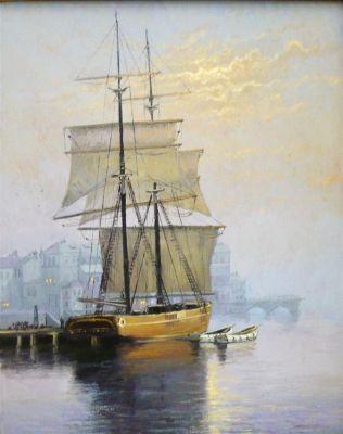 Sea Scapes - Blue Harbor 30x24  $4500