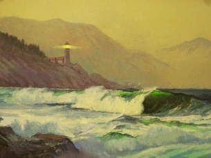 Sea Scapes - Rolling Waves 30x24 $4500